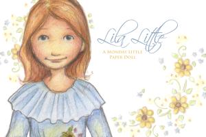 Lila-Little-Paper-Doll