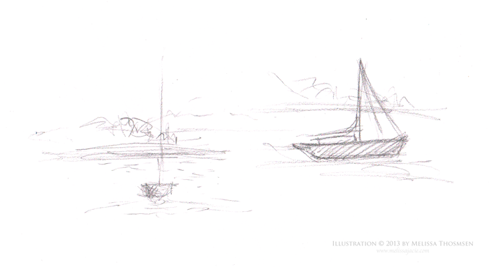 Maine-Boat-Sketches