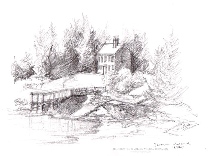 Maine-Sketch